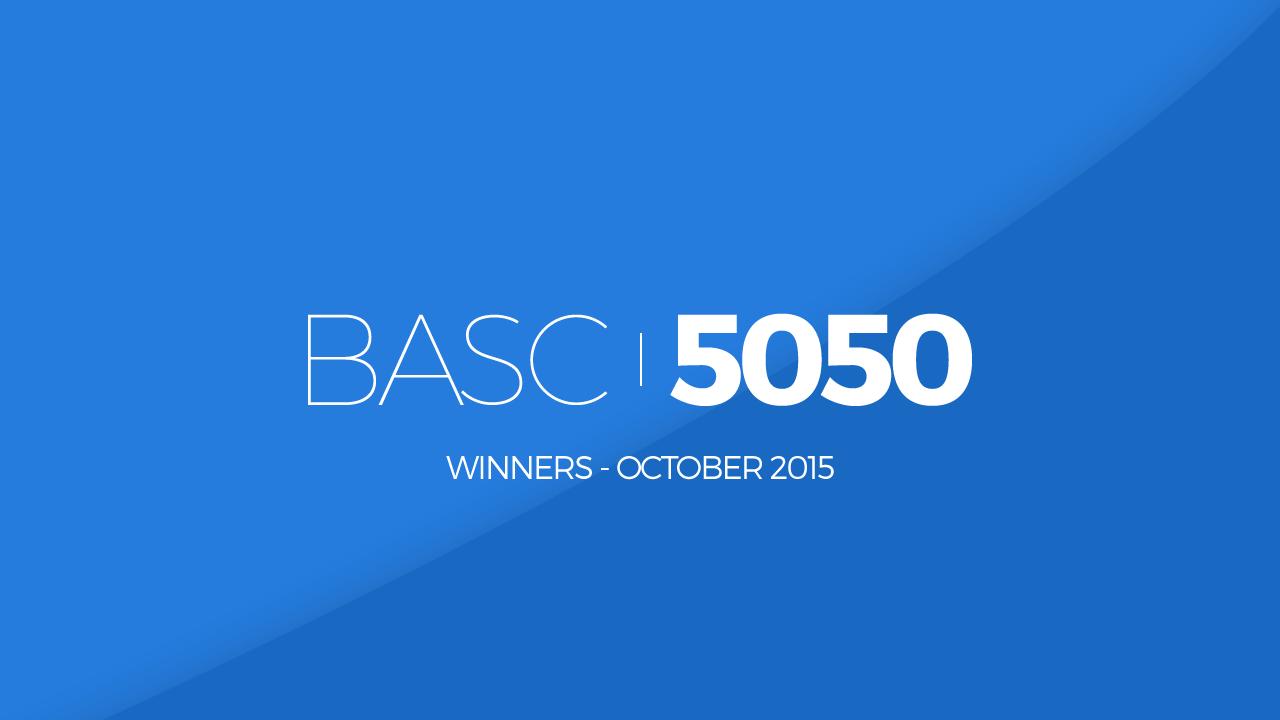 Burton ASC 5050 Lottery October 2015 Winners