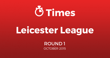 Leicester Autumn League Round 1 BurtonASC