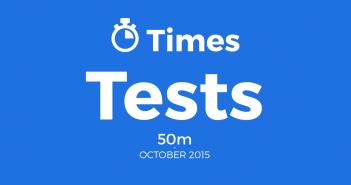 BurtonASC 50m tests results october 2015