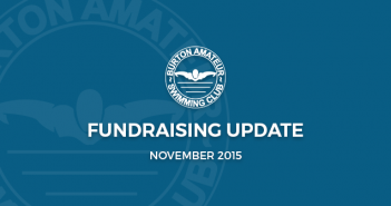 BurtonASC Burton Amateur Swimming Club Fundraising Update November 2015