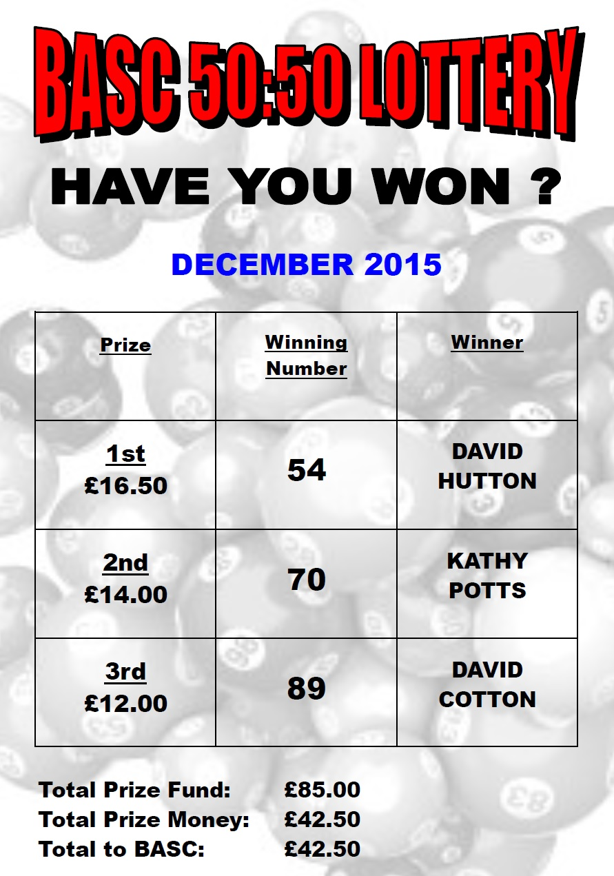 lottery results december 2015 burton amateur swimming club