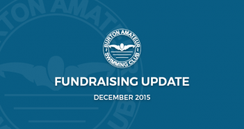 fundraising update December 2015 burton amateur swimming club