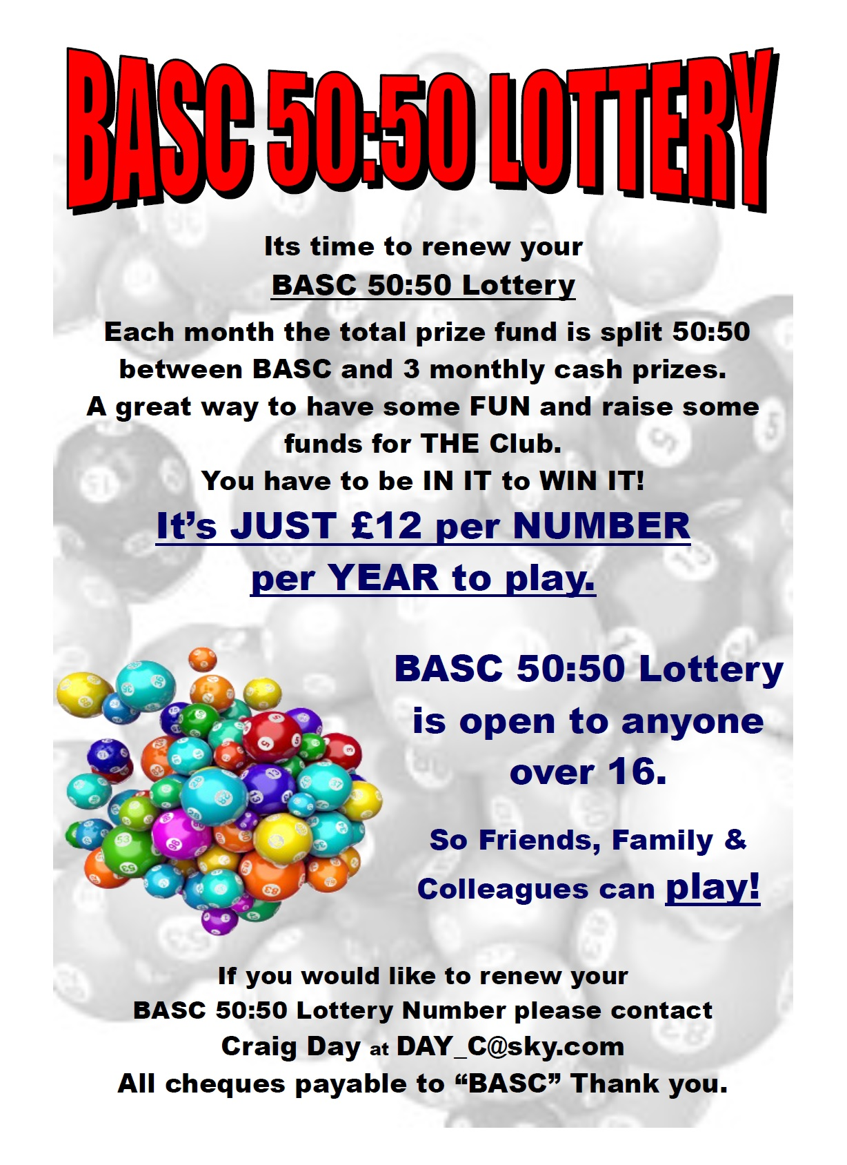 BASC 5050 Lottery Information January 2016 BurtonASC