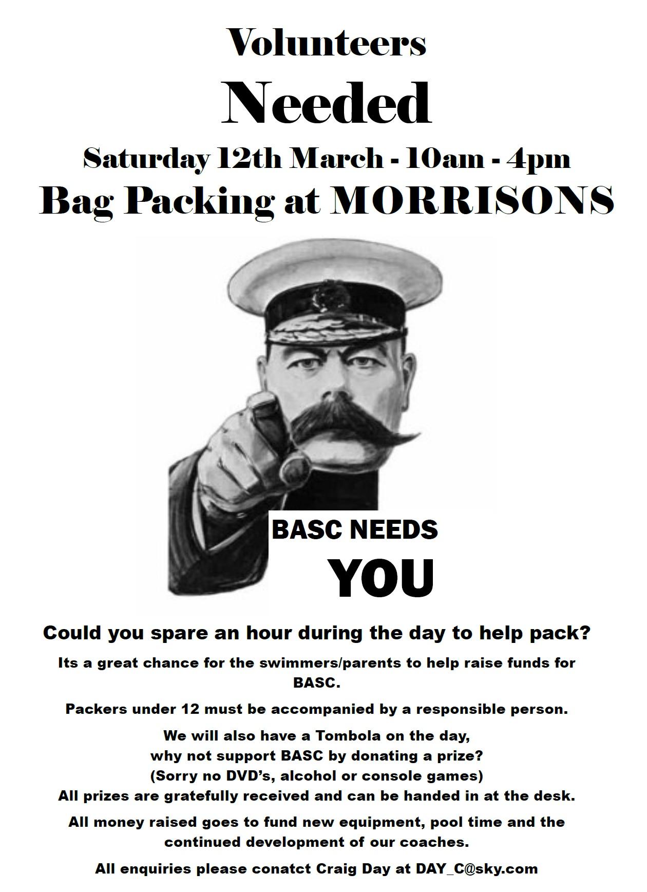 BurtonASC Volunteers Needed 2016