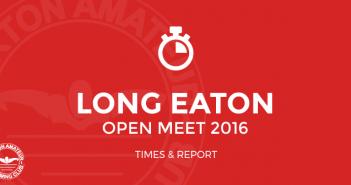BurtonASC Long Eaton Open Meet 2016 Times and report