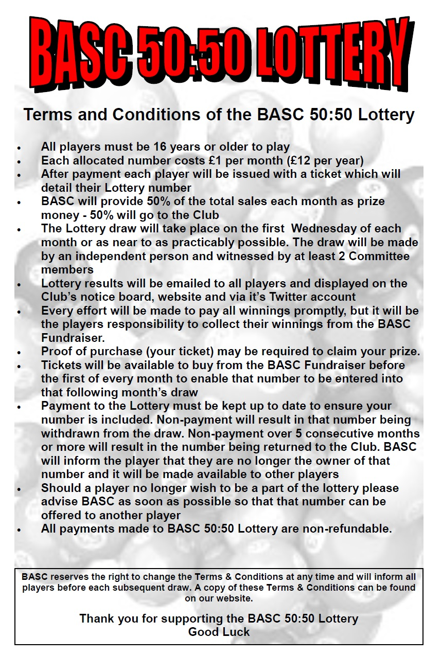 BASC 5050 Updated Terms and Conditions 2016