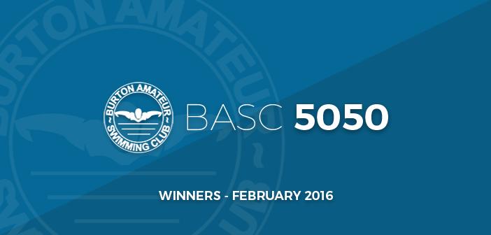 BASC 5050 Thumbnail Lottery Winners February 2016