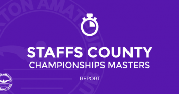 Staffordshire County Champions 2016 Report Masters