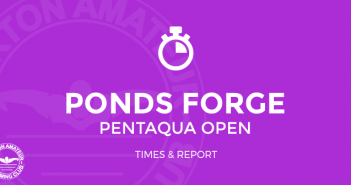 Ponds Forge Pentaqua Open Results Burton ASC