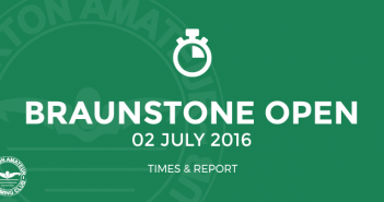 Braunstone Open Meet - July 2016 Times and Report BurtonASC
