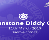 Braunstone Diddy Friendly March 11th 2017 – Times and Report