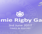 Jamie Rigby Gala: Matlock June 2017 – Times and Report