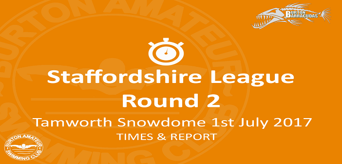 Staffordshire League Round 2: Tamworth July 1st 2017 – Times and Report