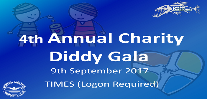 4th Annual Charity Diddy Gala:  September 9th 2017 : Times