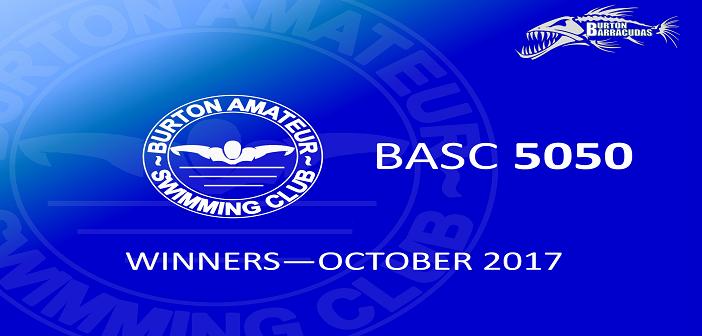 October 2017 Winners – BASC 5050 Lottery