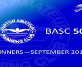 September 2017 Winners – BASC 5050 Lottery