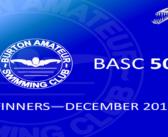 December 2017 Winners – BASC 5050 Lottery