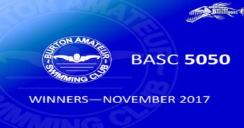 November 2017 Winners – BASC 5050 Lottery