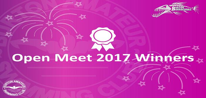 Open Meet Winners 2017