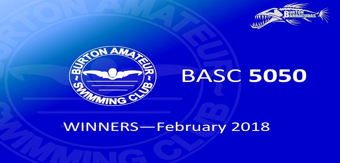 February 2018 Winners – BASC 5050 Lottery