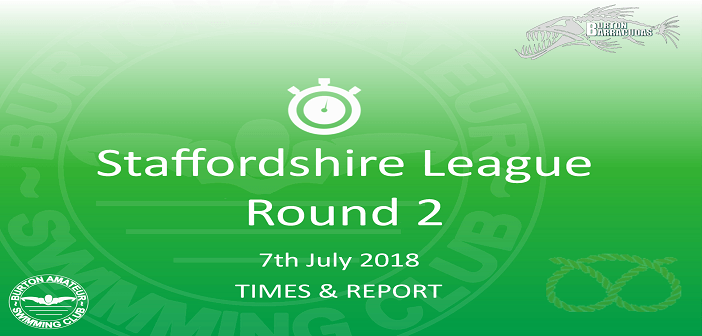 Staffs League 2018 – Round 2 : Times & Report