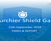 Bourchier Shield Gala : Times & Report