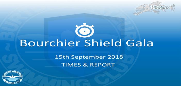Bourchier Shield Gala : Times & Report