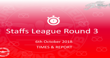 Staffs League 2018 – Round 3 : Times & Report