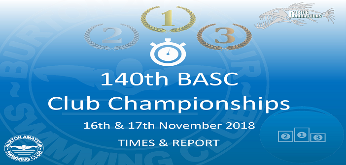 140th Club Championships 2018 : Times & Report