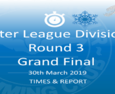 Winter League 2019 – Round 3 : Times & Report