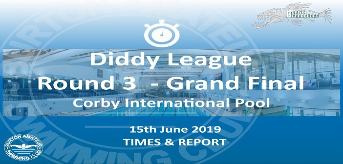 Leicester Diddy League Round 3 – Grand Final June 2019: Times and Report