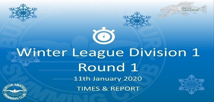 Winter League 2020 – Round 1 : Times & Report